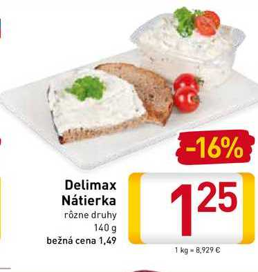 Delimax Nátierka 140 g