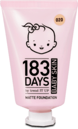 Zmatňujúci make-up Baby Skin, 020 Baby Peach, 30 ml
