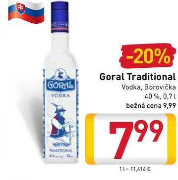 Goral Traditional  0,7 l