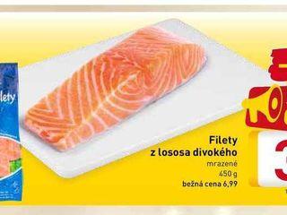 Filety z lososa divokého 450 g