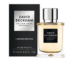 David Beckham Follow Your Instinct pánska toaletná voda 75ml