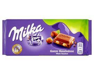 Milka čokoláda 100 g, vybrané druhy