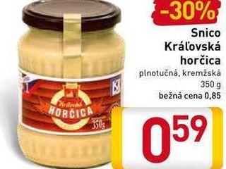 Snico Kráľovská horčica 350 g