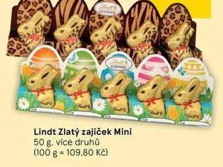 obrázek Lindt Zlatý zajíček Mini, 50 g