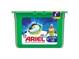 Ariel Active gélové kapsuly 13 praní 1x1 ks
