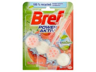 Bref Power Aktiv ProNature grapefruit WC blok 1x50 g