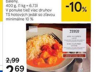 Tesco hovädzí guláš, 400 g