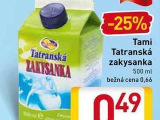 Obrázok  Tami Tatranská zakysanka 500 ml