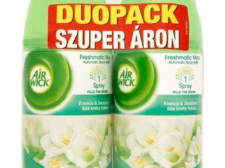 Air wick Freshmatic Max Biele kvety frézie náhradná nápln do osviežovača 2x250 ml