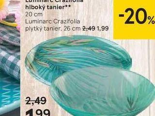 Obrázok Luminarc Crazifolia hlboký tanier