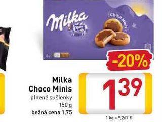 Obrázok   Milka Choco Minis 150 g