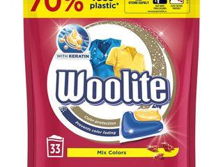 Woolite Color gélové kapsuly 33 praní 1x1 ks