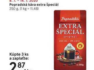 Obrázok Popradská káva extra špeciál, 250 g