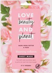 Obrázok Textilná pleťová maska Muru Muru Butter & Rose Blooming Radiance, 1 ks
