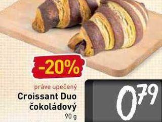 Croisant Duo čokoládový 90 g