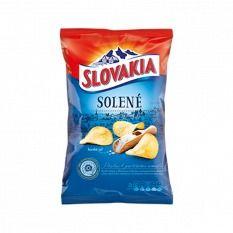 Obrázok Chipsy slané Slovakia 140 g