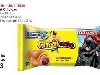 Obrázok Croissant Chipicao, 60 g