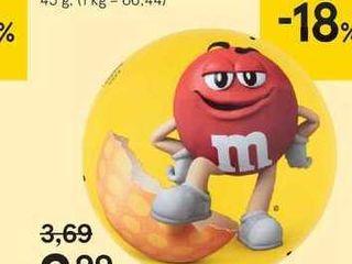 Obrázok M&M´s arašidová plechovka, 45 g