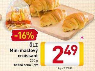 ÖLZ Mini maslový croissant 250 g