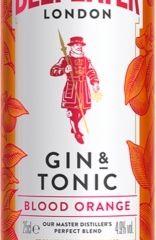 Beefeater Blood Orange Gin & Tonic 4,9% 0,25 L