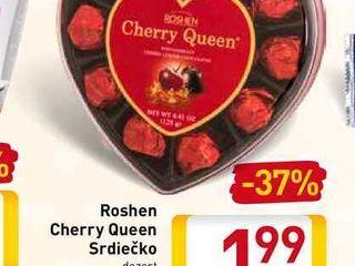 Roshen Cherry Queen Srdiečko  125 g