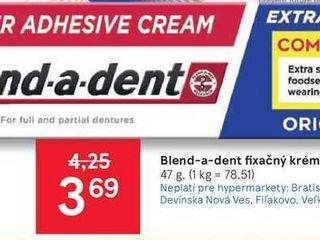 Obrázok Blend-a-dent fixačný krém na zubnú protézu, 47 g