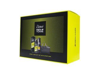Dove Men+Care Active Fresh spr.gél 400ml + antiper.150ml + šamp.250ml + taška