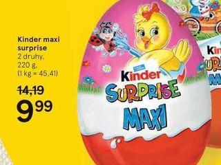 Kinder maxi surprise, 220 g