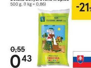 Detská dehydrovaná krupica, 500 g