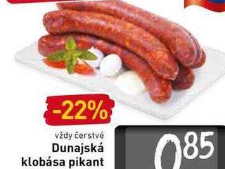 Dunajská klobása pikant  100 g