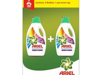 Ariel Color prací gél 48 praní 2x2,64 l