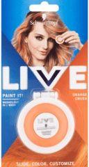 Obrázok Zmývateľná krieda na vlasy Live Paint It! pomarančová smoothie, 1 ks