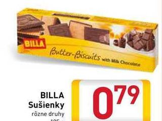 BILLA Sušienky 125 g