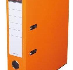 Šanón/zakladač A4/5cm pákový oranžový SIGMA 5ks