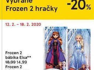 Obrázok Frozen 2 bábika Elsa