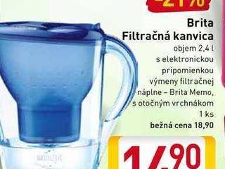 Brita filtračná kanvica 2,4 l