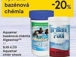 Obrázok Aquamar bazénová chémia Algeastop**