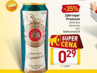Obrázok Zähringer Premium 0,5 l