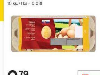 Obrázok Tesco vajcia, 10 ks