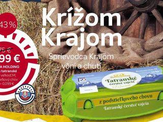 HYDINA HOLDING Vajcia tatranské, 10 ks