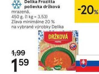 Delika Frozitta polievka držková, 450 g