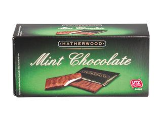 Čokoládovo-mätové tabuľky