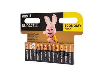 Batérie Basic AAA Duracell 12ks