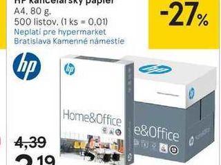 HP kancelársky papier