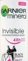 Garnier Mineral Invisible black white color antiperspirant sprej dámsky 1x150 ml