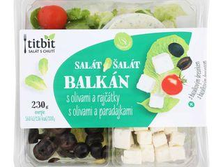 Šalát Balkán s olivami