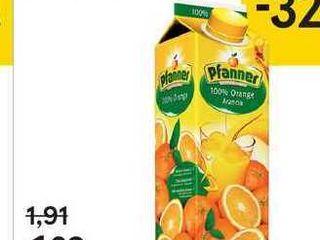 Pfanner 100 % džús, 1 l