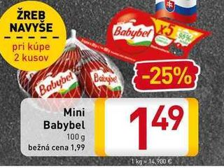 Mini Babybel   100 g