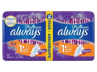 Obrázok Always platinum normal dámske vložky 1x16 ks
