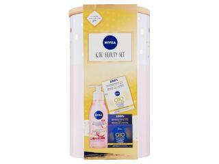 Nivea Q10 Beauty Set pleťový olej 150ml + denný krém 50ml + nočný krém 50 ml